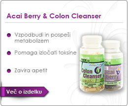 Acai Berry & Colon Cleanser-reklama